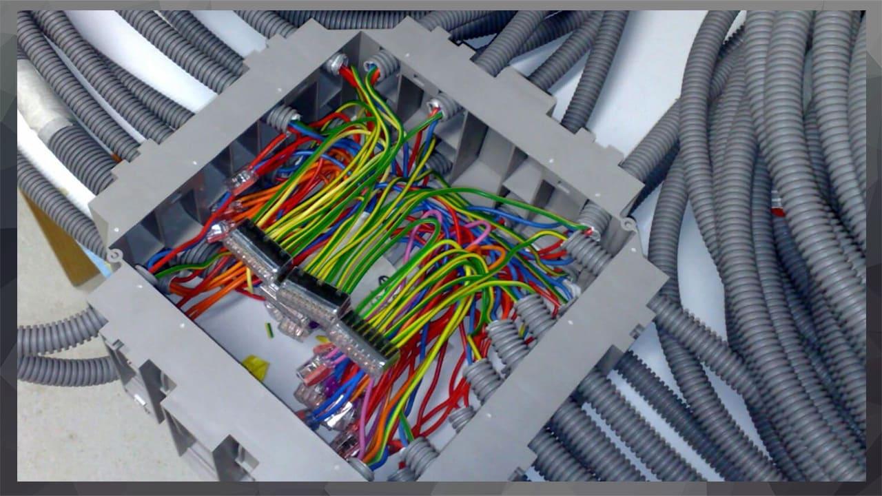 cables électrique bordeaux